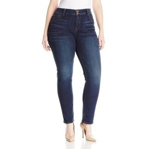 Lucky Brand Emma Straight Dark Wash Jeans